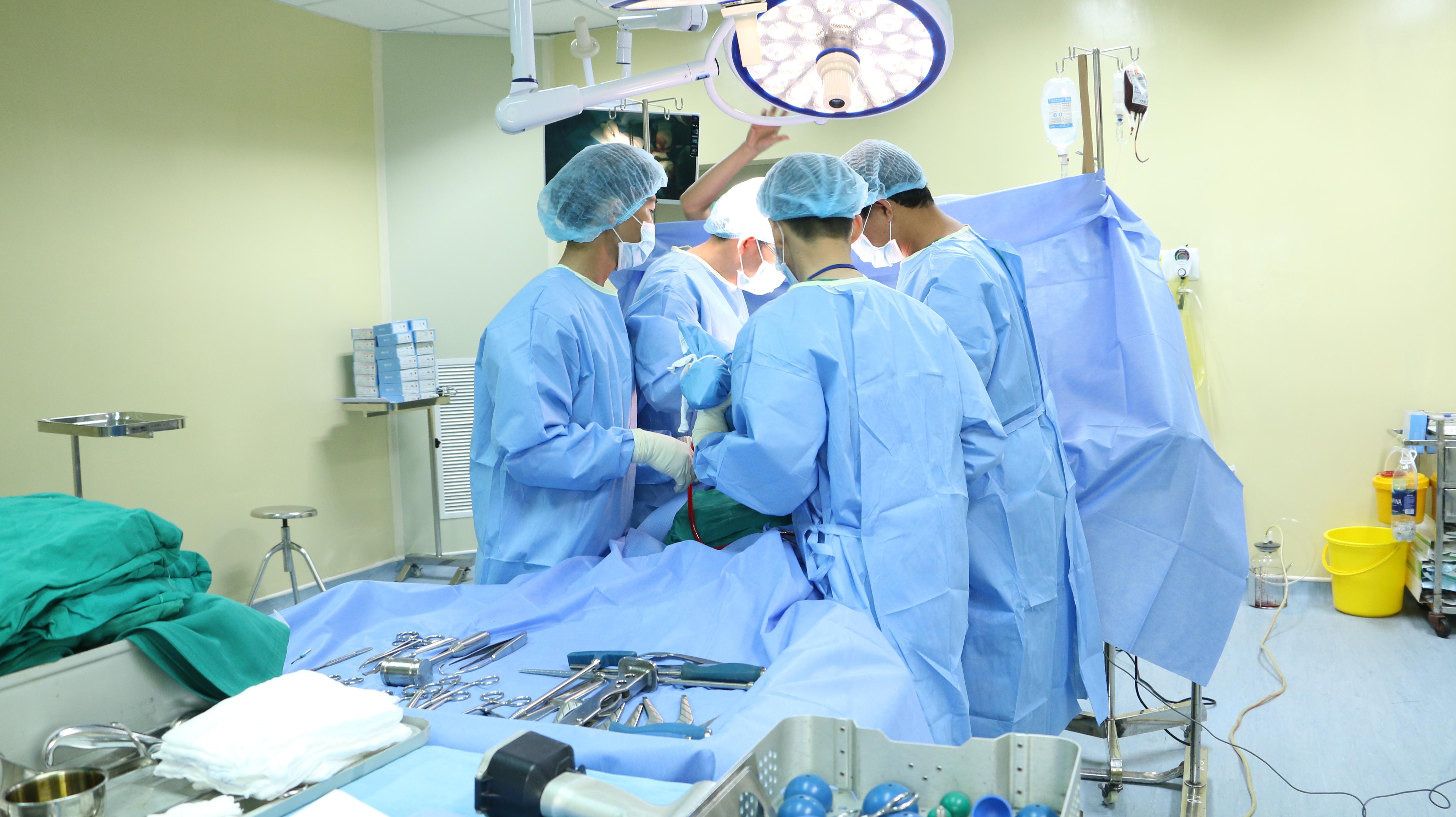 Bệnh viện đa khoa tỉnh Kon Tum với phẫu thuật khớp gối nhân tạo